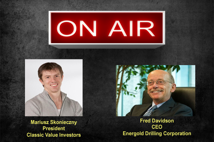 Fred Davidson from Energold Drilling