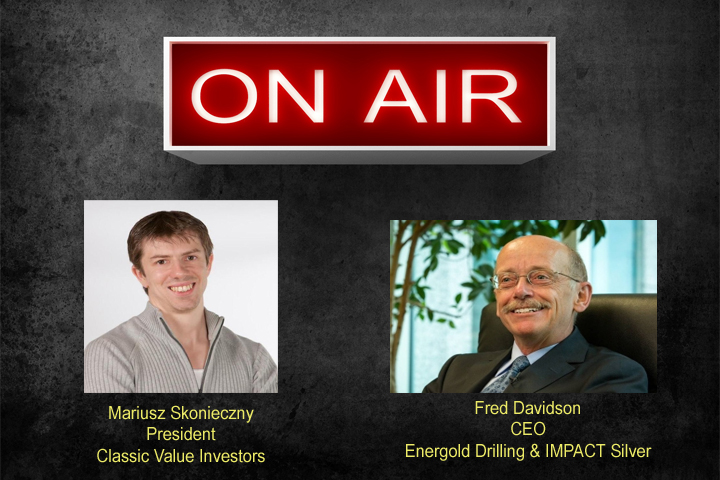 Fred Davidson on Energold and Impact Silver