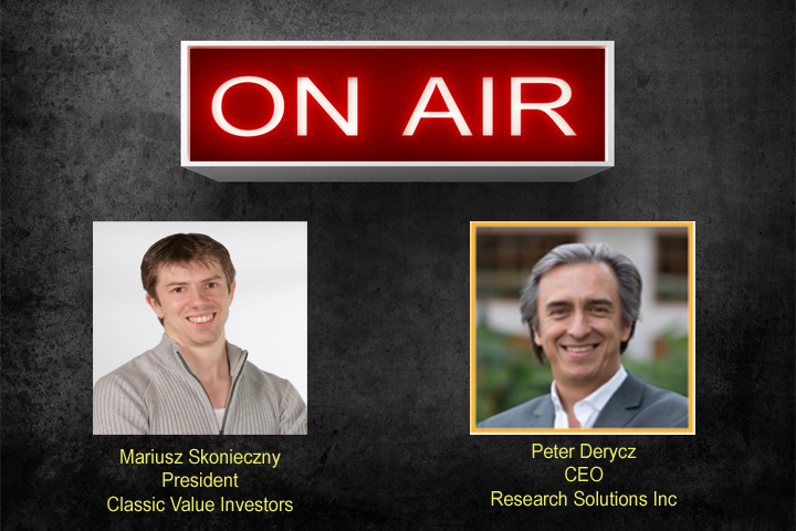 Interview with Peter Derycz from Research Solutions Inc