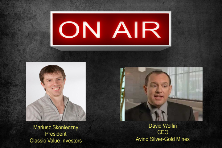 Interview with David Wolfin of Avino Silver-Gold Mines