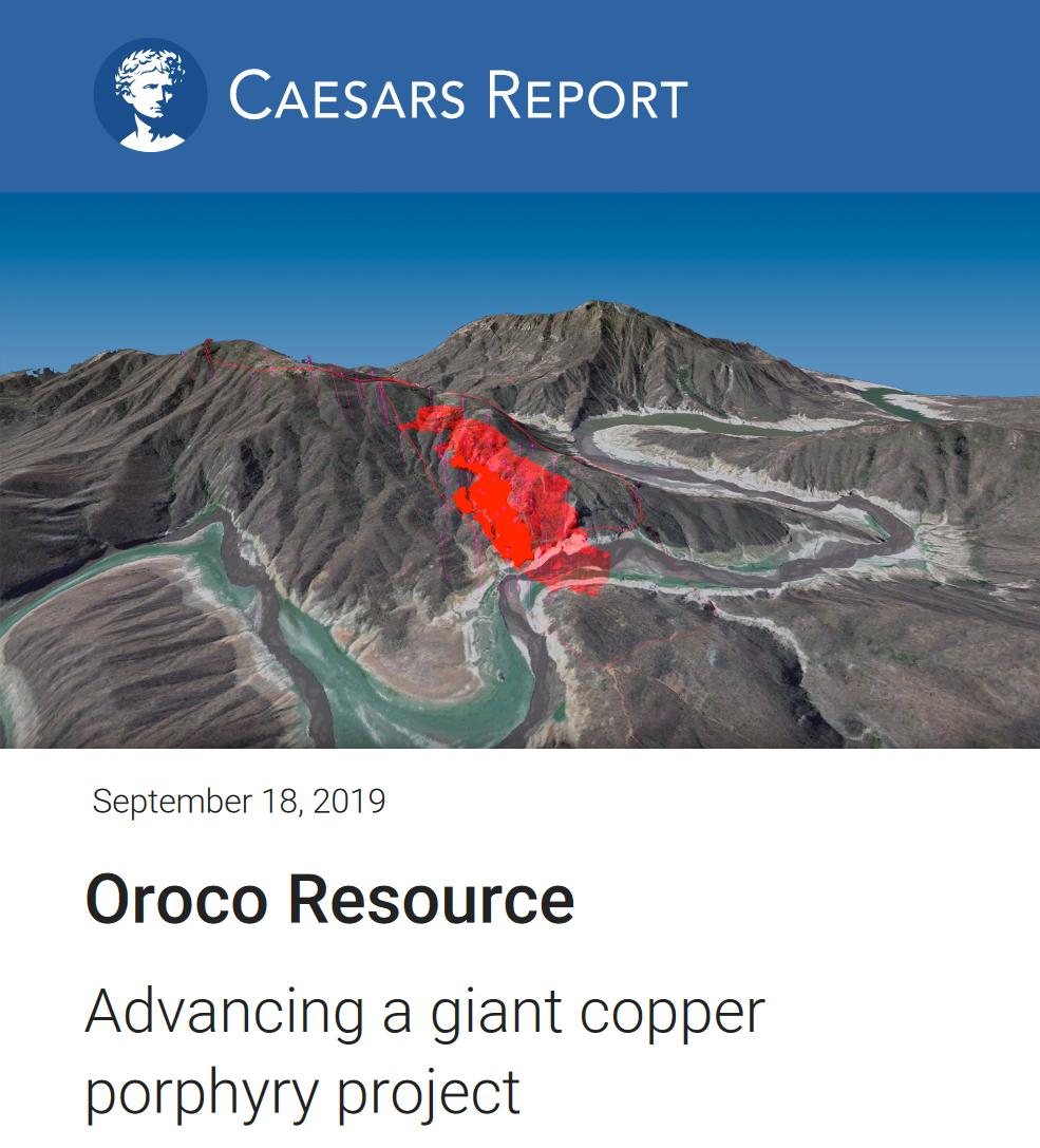 Caesars Report for Oroco
