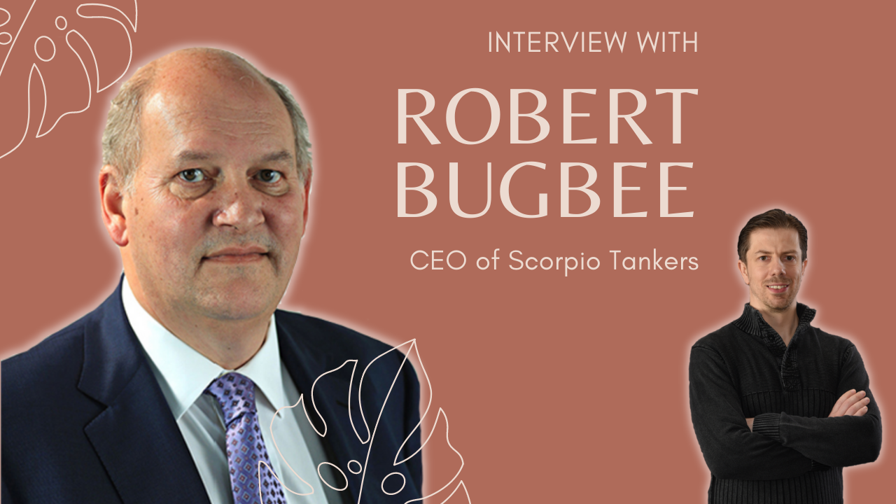 Interview with Roberg Bugbee of Scorpio Tankers